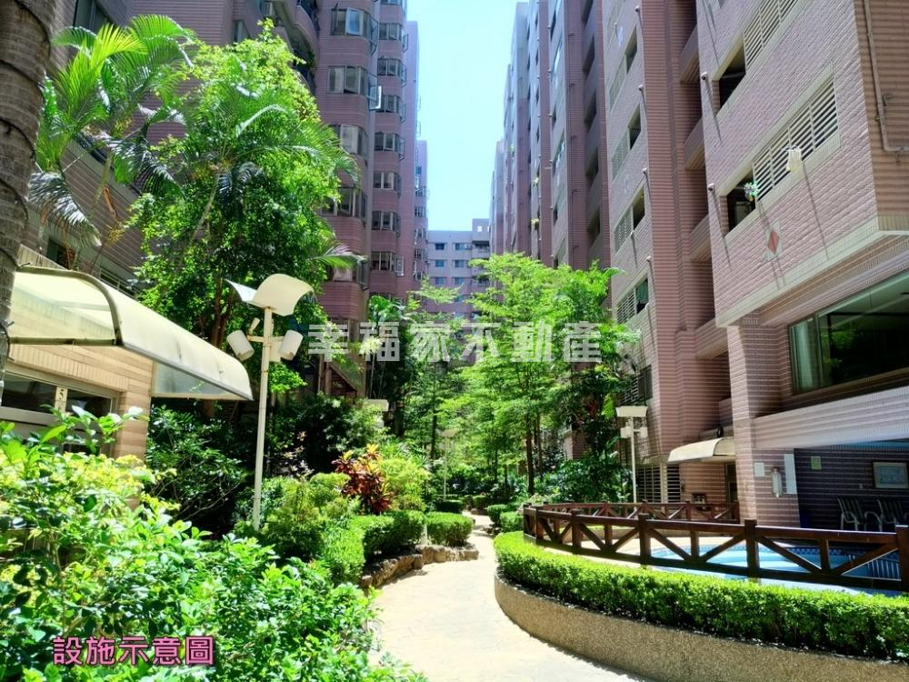 長谷海頓高樓層明亮四房裝潢平車寓